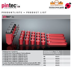 PINTEC CLAMPING SYSTEMS